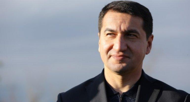 """""""Şuşa Ermənistanın 30 illik hərbi işğalından sonra bərpa olunur"""" - Hikmət Hacıyev"""