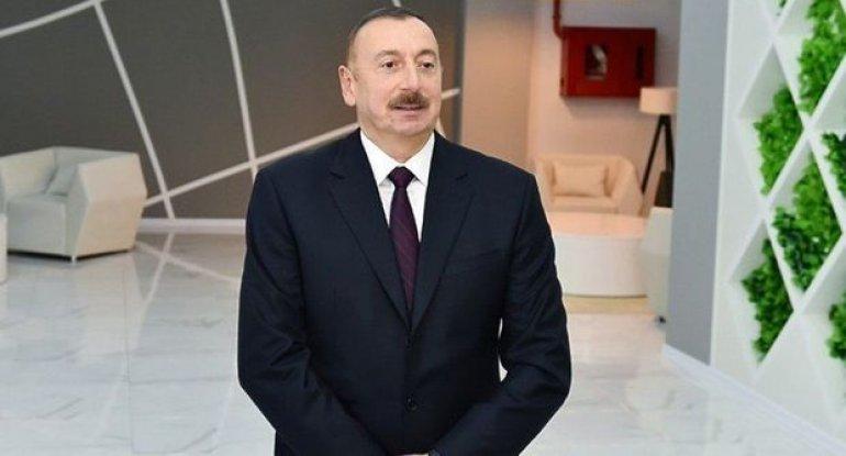 Prezident Naxçıvanda Beynəlxalq Hava Limanının yeni uçuş-enmə zolağının təqdimatında iştirak edib
