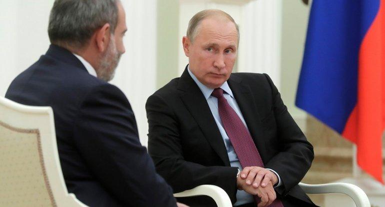 Putinlə Paşinyan danışdı: Kremldən ciddi tələb...
