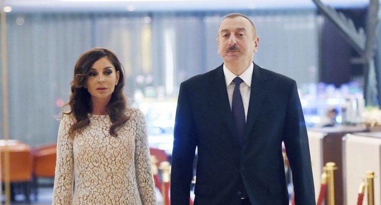Prezident İlham Əliyev Qəbələ rayonuna səfərə gəlib