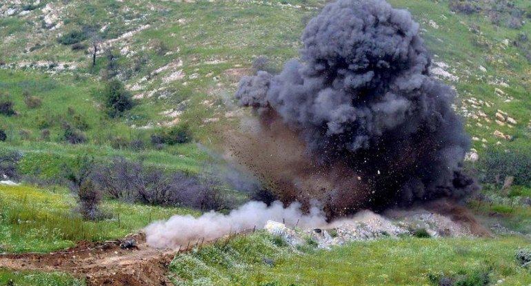 Son bir həftədə azad olunan ərazilərdə aşkarlanan minaların sayı açıqlanıb