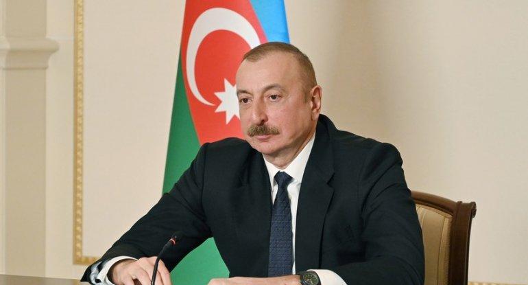 Azərbaycan Prezidenti bölgədə münaqişə sonrası vəziyyəti müsbət qiymətləndirib