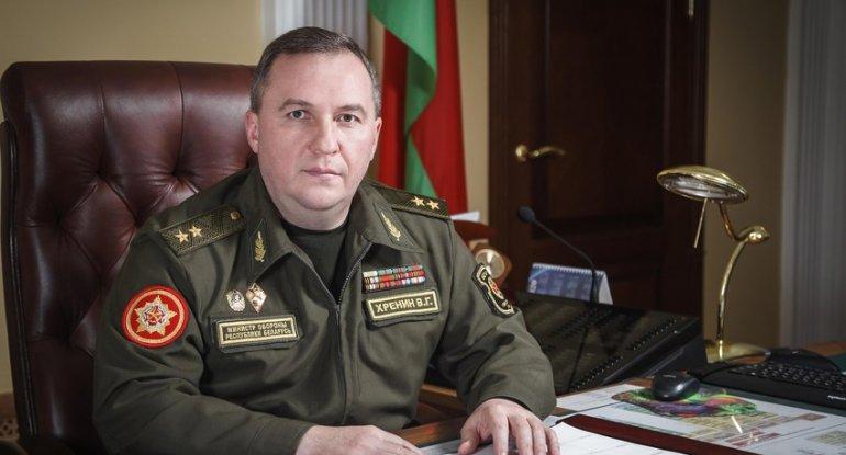 Belarusun müdafiə naziri Azərbaycana rəsmi səfərə gəlib