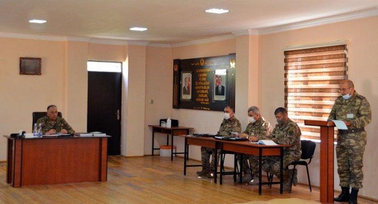Azərbaycan Ordusunun anti-terror əməliyyatına hazırlığı barədə tapşırıqlar verilib