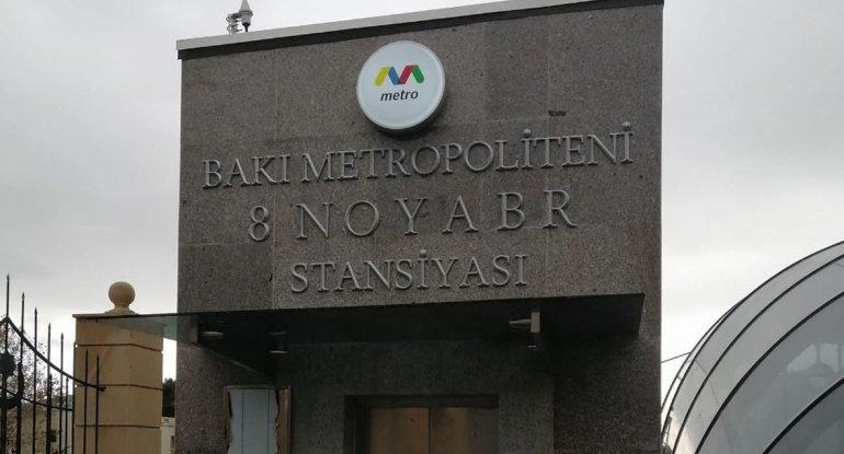 """""""8 Noyabr"""" stansiyasında Xudayarın ifası səslənəcək? - RƏSMİ AÇIQLAMA/VİDEO"""
