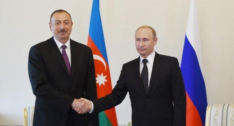 İlham Əliyev və Vladimir Putin Azərbaycan-Ermənistan sərhədindəki hadisələri müzakirə edib