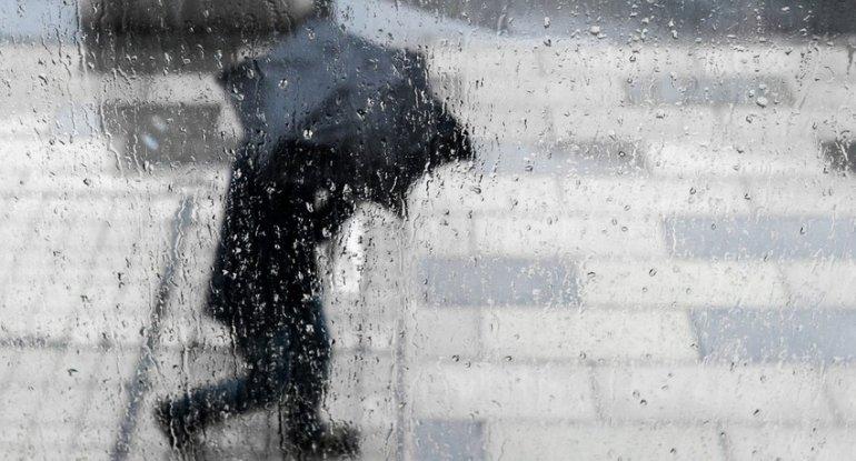Sabahın havası - yağış, külək...