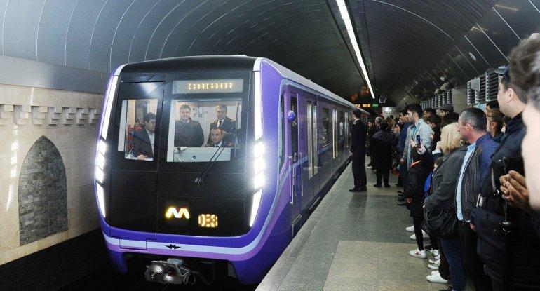 Metro açılır - RƏSMİ