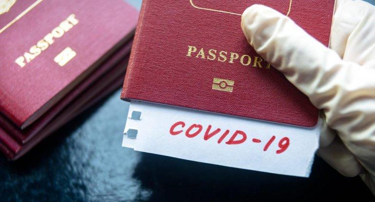 COVID pasportu bu adamlara veriləcək