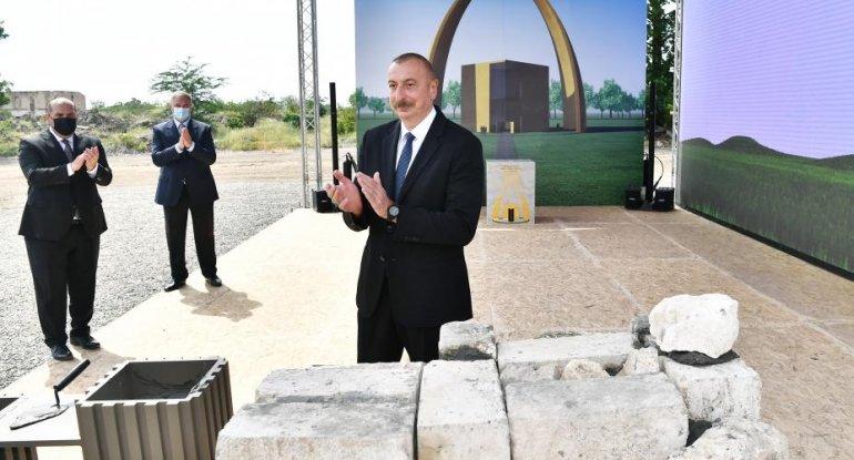 Prezident İlham Əliyevin Ağdama səfəri - CANLI
