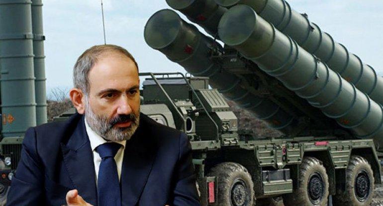 """Paşinyan: """"Erməni zabit qızıla görə S-300 sisteminin platasını çıxarıb satır"""" - VİDEO"""