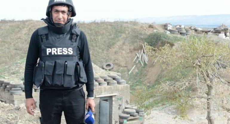 Şəhid jurnalist dəfn edildi - YENİLƏNİB + FOTO