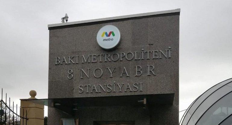 8 Noyabr stansiyasında daşınan sərnişinlərin sayı açıqlandı