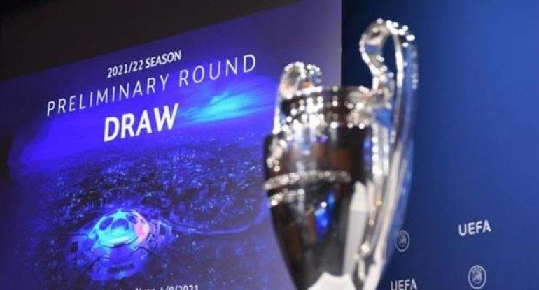 UEFA Çempionlar Liqasının yeni mövsümünün ilk püşkatması keçirilib