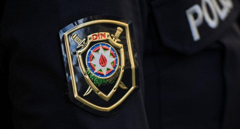 Yevlax polisi əməliyyat keçirib, saxlanılanlar var