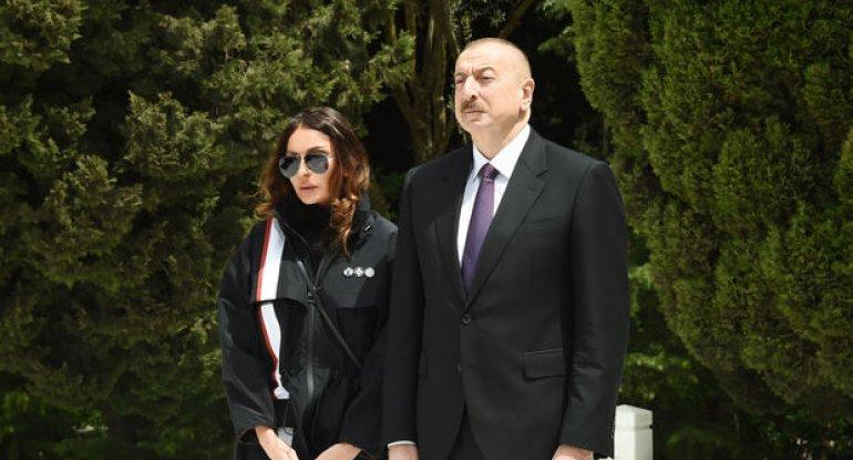 İlham Əliyev və Mehriban Əliyeva İşeinin vəfatı ilə əlaqədar nekroloq imzaladılar