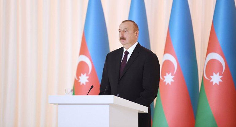 Azərbaycan Prezidenti on ölkənin qeyri-rezident səfirlərinin etimadnamələrini qəbul edib