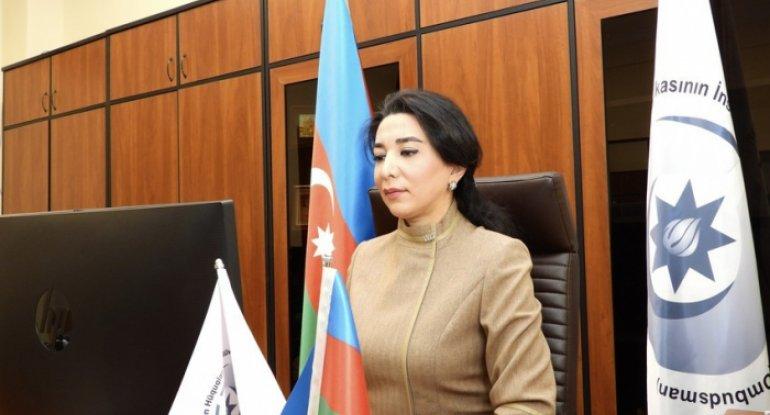Ombudsmandan Paşinyanla bağlı beynəlxalq təşkilatlara müraciət