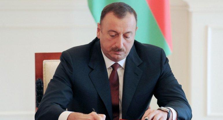 Prezident şəhid jurnalistlərlə bağlı sərəncam imzaladı