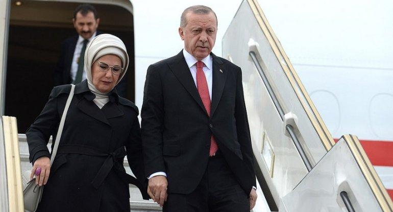 Rəcəb Tayyib Ərdoğan Azərbaycana səfərə gəlib