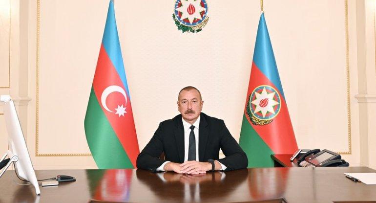 İlham Əliyevin Zirvə toplantısında videoformatda çıxışı təqdim olundu