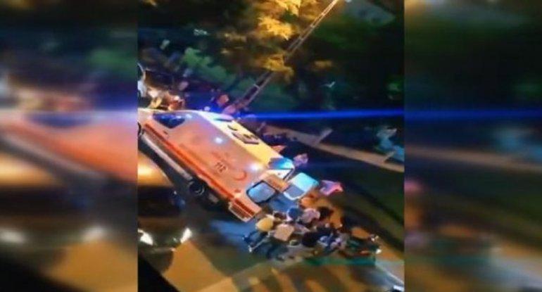 İstanbulda azərbaycanlı sürücü güllələndi - VİDEO