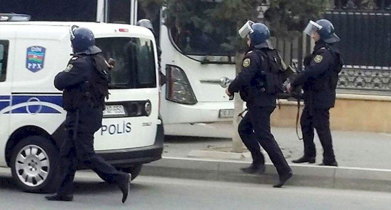 Zəngilanda polis əməliyyat keçirdi - FOTO