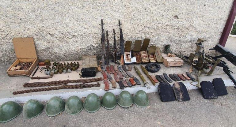 Xocavənddə silah-sursat aşkarlandı