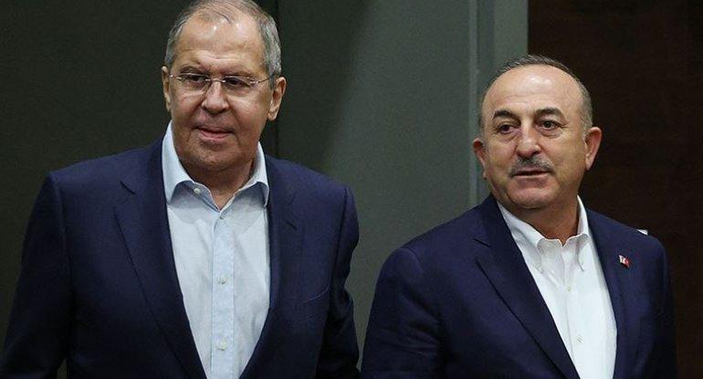 """""""Azərbaycan Türkiyənin qırmızı xəttidir"""" - Lavrov-Çavuşoğlu görüşünün ŞƏRHİ"""