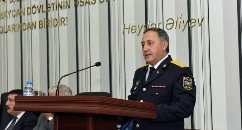 """""""Qoratdel""""in rəisinə general-mayor rütbəsi verildi"""