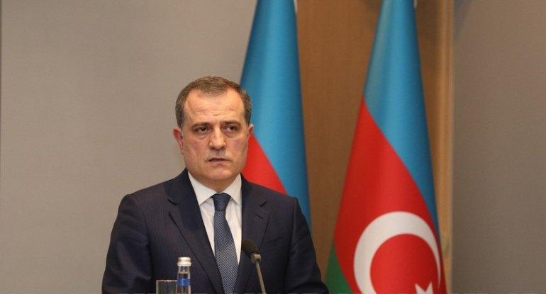 """Ceyhun Bayramov: """"Ermənistan cəmiyyəti təcavüz siyasətinin ağır nəticəsini görür"""""""