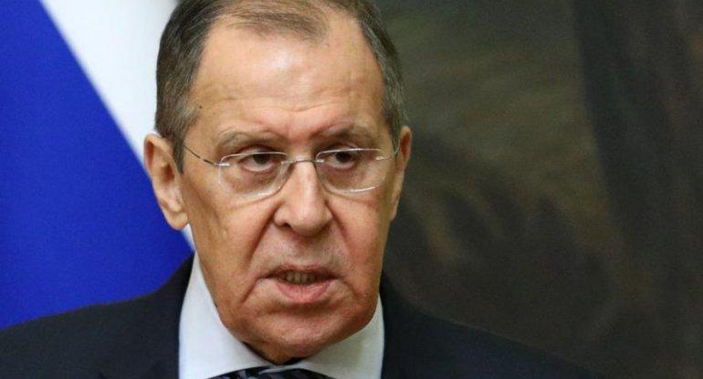 Lavrov: Dəstələr sərhədə məqsədyönlü yığılır, dərhal reaksiya veriləcək