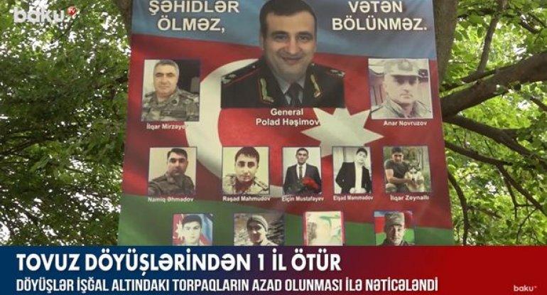 Vətən müharibəsinin başlanğıcı hesab olunan Tovuz döyüşləri - VİDEO