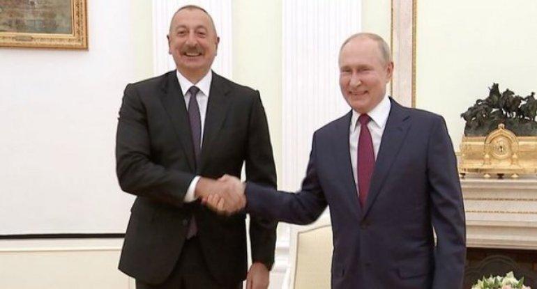 Putin İlham Əliyevi Qurban bayramı münasibətilə təbrik etdi – VİDEO
