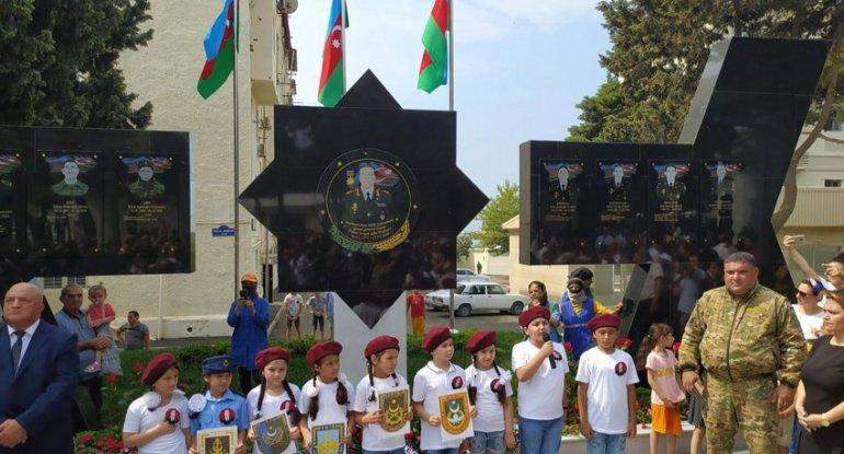 Bakıda Polad Həşimov parkı istifadəyə verildi - FOTO
