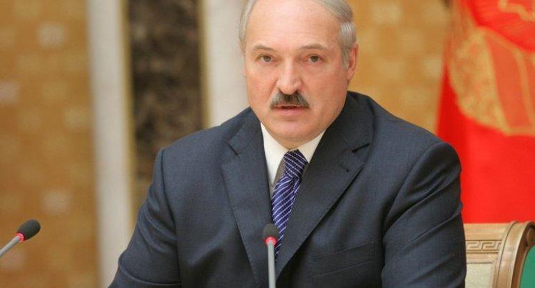 """Lukoşenko dünya müharibəsindən danışdı: """"Qarşıdurma olacaq"""""""