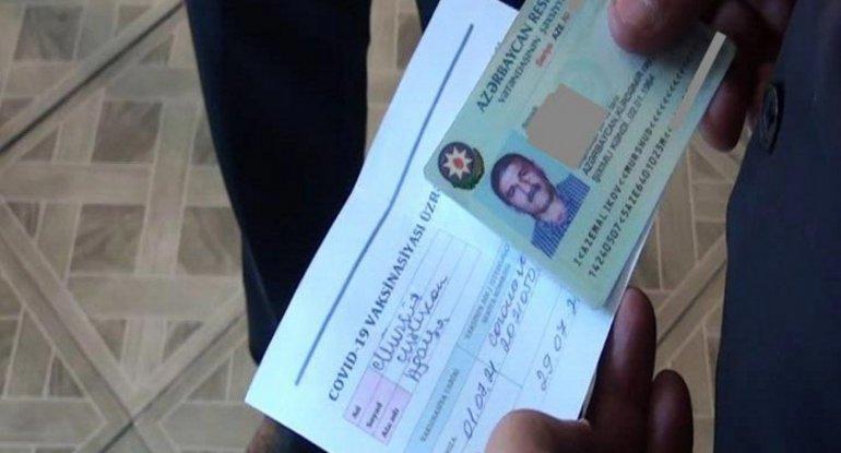 COVID-19 pasportu olmayanlar toya buraxılmadı - FOTO