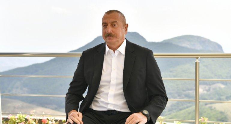 Prezidentin Xankəndi ilə bağlı çıxışı - VİDEO