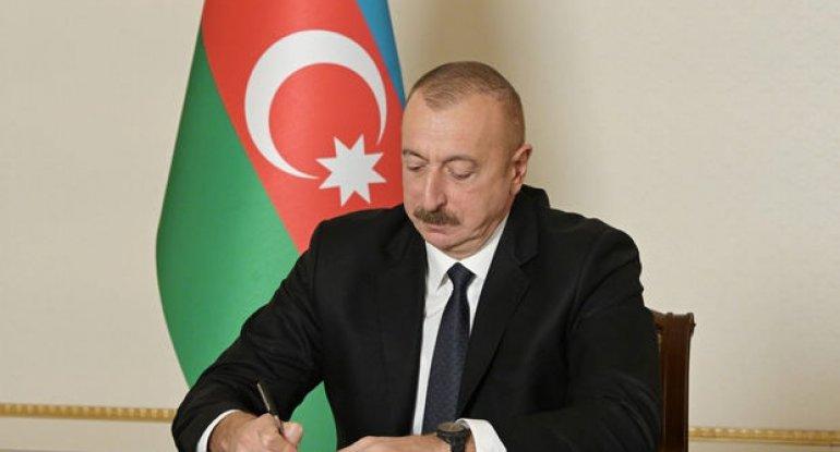İlham Əliyev dörd qanunu təsdiqlədi