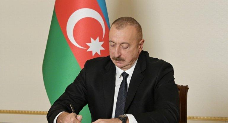 Prezident deputatla bağlı sərəncam imzaladı - FOTO