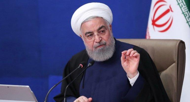 İran prezidenti xalqdan üzr istədi