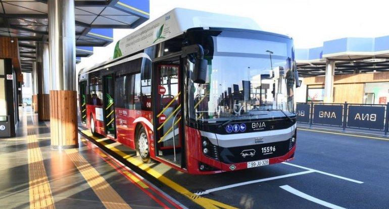 Bu avtobusun hərəkət sxemi dəyişdirildi