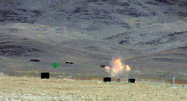 Azərbaycan artilleriyaçıları Qazaxıstanda 3-cü yeri tutdu - VİDEO