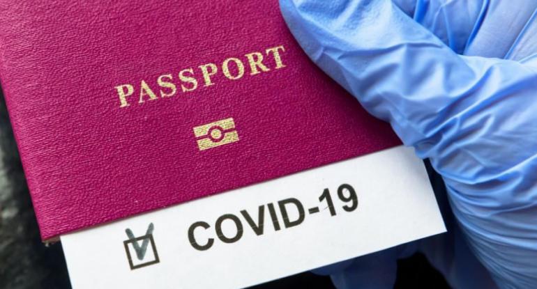 Saxta COVID-19 pasportu satanlar saxlanılıb