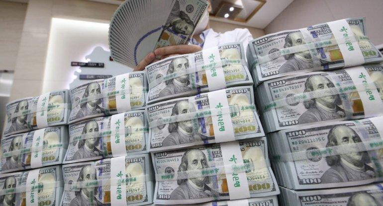 Mərkəzi Bankın valyuta ehtiyatları 7 milyard dolları ötdü