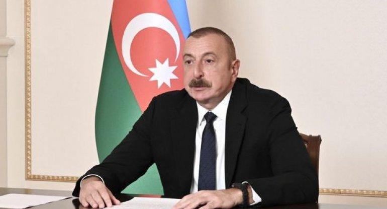 İlham Əliyev Sumqayıt Elektrik Stansiyasının yeni estakada nasos stansiyasının açılışında