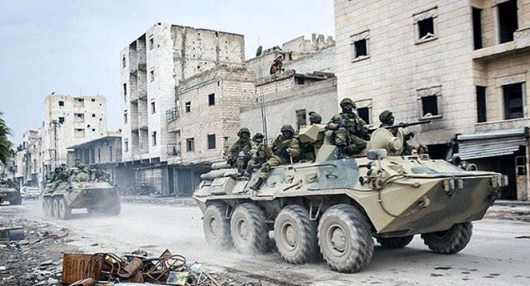 Rusiyalı hərbçi Suriyada həlak oldu