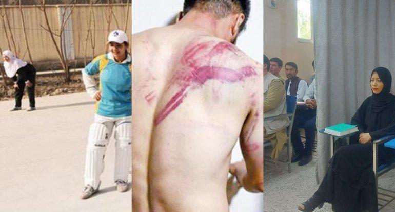 Talibanın ilk addımları: jurnalistlərə şiddət, idmana qadağa, müxalifətə yo ...