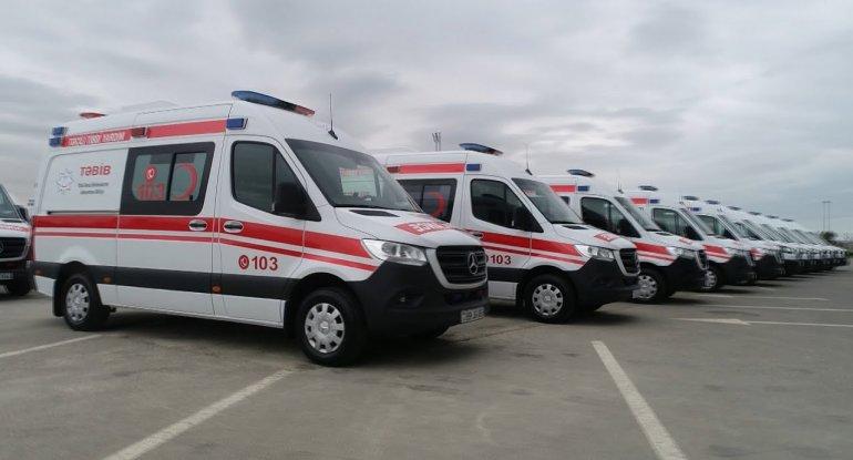 Dövlət Agentliyi 65 ədəd təcili yardım avtomobili alır