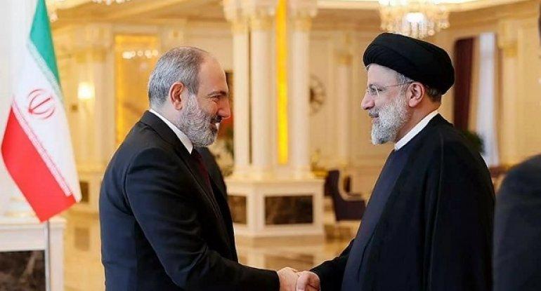 Paşinyanla İran prezidenti İbrahim Rəisi görüşüb